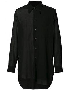 asymmetric shirt  Ann Demeulemeester Grise