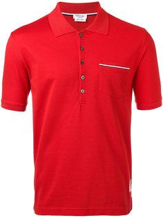 рубашка-поло с карманом Thom Browne