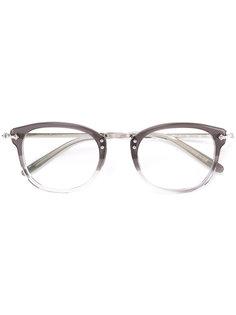 очки в квадратной оправе Oliver Peoples