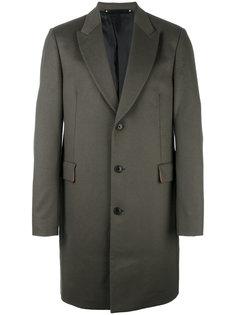 однобортное пальто Paul Smith