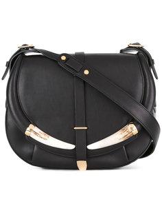 сумка на плечо с откидным клапаном Roberto Cavalli