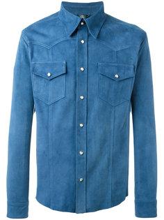 замшевая рубашка Eleventy
