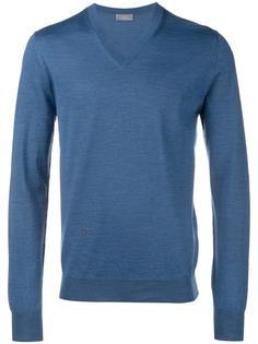 свитер c V-образным вырезом   Dior Homme