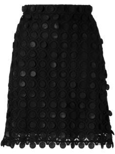 юбка А-образного кроя Carven