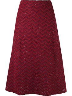 mid-length knitted skirt Cecilia Prado