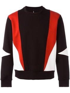 geometric sweatshirt Neil Barrett