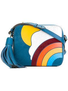 сумка через плечо с радугой Anya Hindmarch