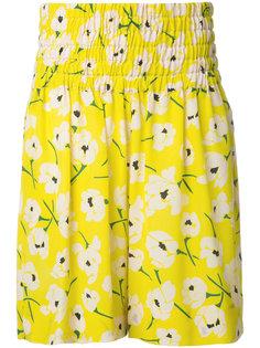 шорты с цветочным узором Rochas