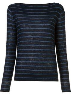 striped jumper Vince