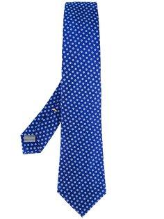 галстук с цветочным узором Canali