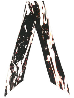 bleach skinny silk scarf Rockins