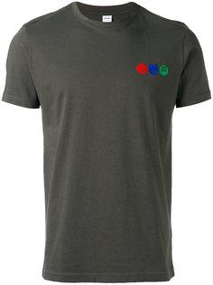 футболка с принтом-логотипом Aspesi