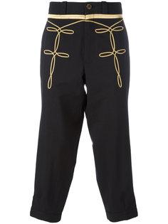 брюки с вышивкой Ports 1961