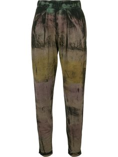 gradient tapered trousers  Raquel Allegra