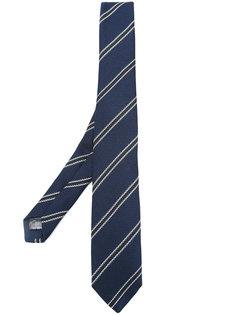 галстук с полосатым принтом Tonello