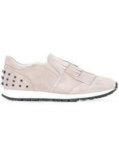 studded trim trainers  Tods