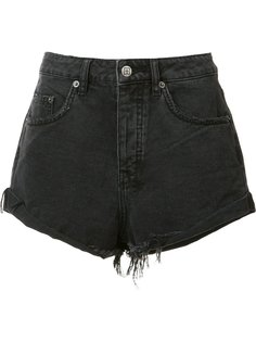frayed denim shorts Ksubi