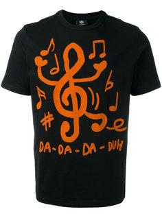 футболка с принтом нот Ps By Paul Smith