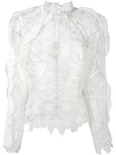 lace blouse  Self-Portrait