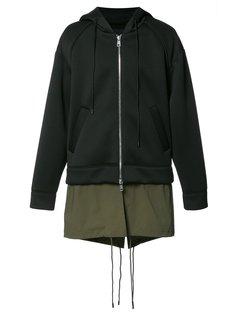 layered hoodie  Juun.J