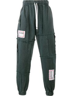 лоскутные спортивные брюки Liam Hodges