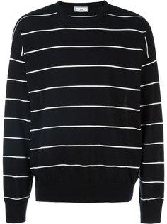 полосатый свитер свободного кроя Ami Alexandre Mattiussi