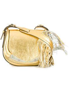 сумка на плечо с бахромой Roberto Cavalli
