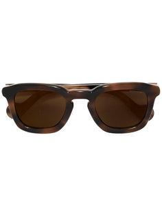 солнцезащитные очки в квадратной оправе Moncler