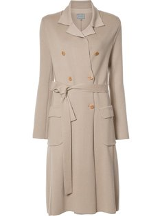 double breasted knit trenchcoat Maiyet