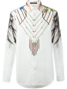 рубашка с принтом Roberto Cavalli