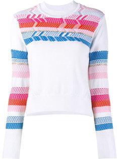 свитер с перуанским узором Peter Pilotto