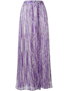 расклешенная юбка с узором Missoni