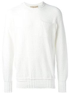 свитер с карманом  Maison Flaneur