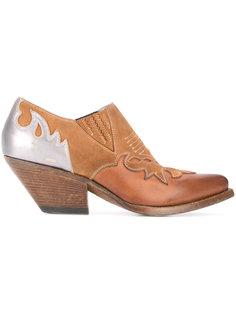 ботинки на щиколотку с заостренным носком Buttero