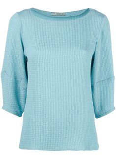 блузка с вырезом-лодочка Etro