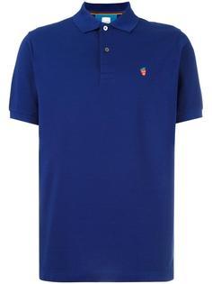 рубашка-поло с вышивкой Paul Smith