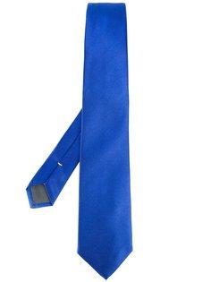 галстук с узором в рубчик Canali