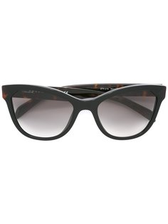 солнцезащитные очки с массивной оправой Prada Eyewear