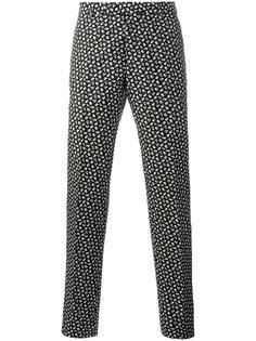 брюки с цветочным принтом   Dior Homme