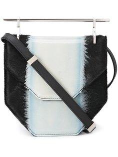 pony hair crossbody bag M2malletier
