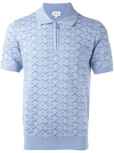 футболка-поло в клетку Brioni