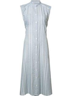 striped buttoned dress Sea