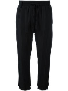 брюки с заниженной проймой Haider Ackermann
