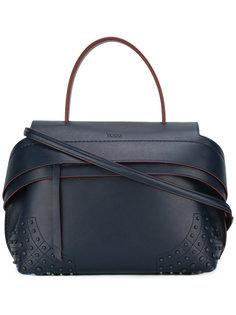 сумка-тоут со съемной лямкой Tods