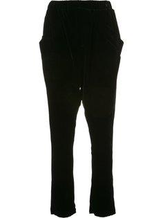 drop crotch trousers  Baja East