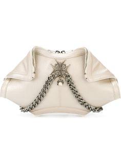 клатч De Manta с подвесками Alexander McQueen