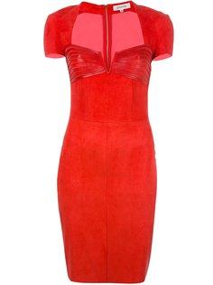 платье с вырезом-сердце и панельным дизайном Jitrois