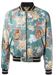 куртка бомбер Tiki Tiger Roberto Cavalli