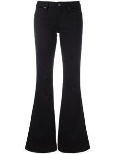 расклешенные джинсы  Burberry
