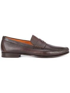 Carmel penny loafers Santoni